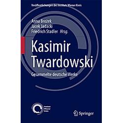 Kasimir Twardowski - Buch