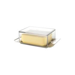 GEFU Butterdose Butterdose BRUNCH, Glas / Edelstahl, (1-tlg)