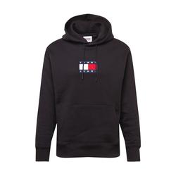 Tommy Jeans Herren Hoodie schwarz / weiß / rot / navy
