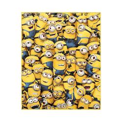 Kinderdecke Fleece Decke Die Eiskönigin 2, Autumnal, 110 x 140, CTI gelb