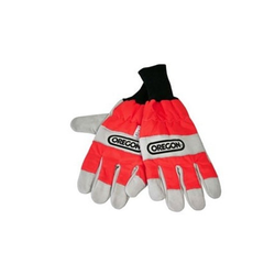 Oregon Forst Handschuhe Schnittschutz Kettensäge rot S-XL EN 381, Handschuhgröße: Handschuhe S (8)