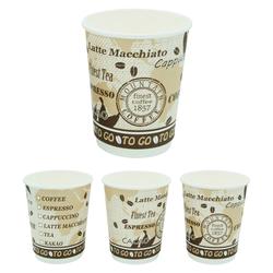 Premium Kaffeebecher Doppelwand, `Coffee to go`, beschichtet, 300 ml,  30 Stk.