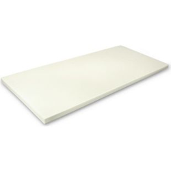 MSS Viscoelastische Matratzenauflage ohne Bezug 200x200 x4 cm