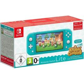 Nintendo Switch Lite türkis + Animal Crossing: New Horizons