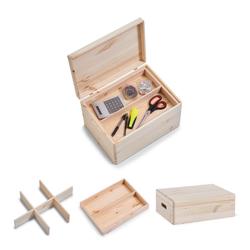 Kisten-Set mit Deckel, 3-tlg. Zeller
