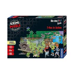 Kosmos Puzzle Krimi Puzzle: Die drei ??? Kids 200 Teile - Dinos, Puzzleteile