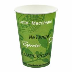 BIO Automatenbecher Kaffeebecher Pappbecher 70,3mm Ø  Bio Green 180 ml 100 Stk.