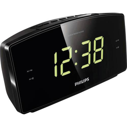 Philips Radiowecker UKW Schwarz