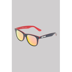 CAMP DAVID Sonnenbrille (ca. 17 x 15 x 15 cm) Print rot