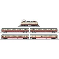 Märklin Zugpackung E-Lok BR 112 Rheingold-Flügelzug der DB 26983 H0