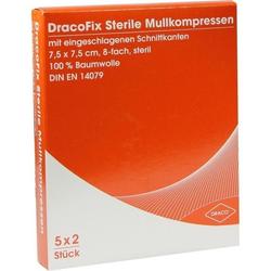 DRACOFIX PEEL KOM steril 7.5X7.5 8fach