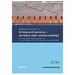 Altbausanierung 12 - Buch