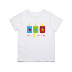 """Kinder T- Shirt zum 3.Geburtstag """"Endlich 3"""""""
