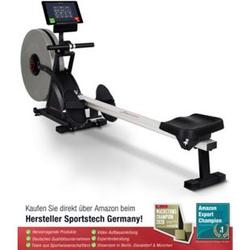 Sportstech 2in1 Profi Rudergerät RSX600 klappbar + Pulsgurt