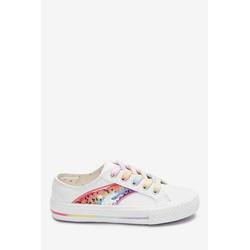 Next Glitzer-Sneaker mit Regenbogen Sneaker 35