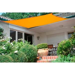FLORACORD Sonnensegel BxL: 300 x 400 cm gelb