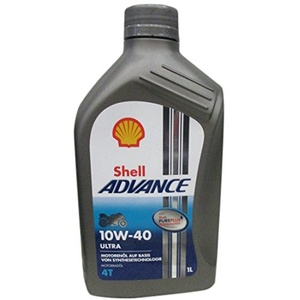 Shell Advance Ultra 4T 10W -40, 1L