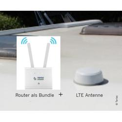 Internet-Antenne Tertek für Wohnmobile mit Router
