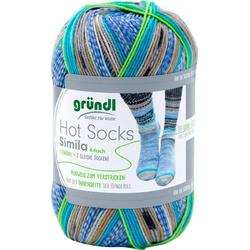 Gründl Wolle Hot Socks Simila Häkelwolle, 100 g bunt