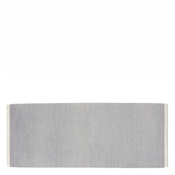 Bias Rug Cool grey 80 x 200 cm  Hay
