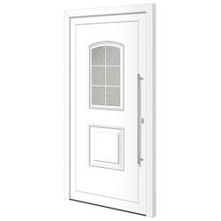 RORO Türen & Fenster Haustür Otto 10, BxH: 100x210 cm, weiß, ohne Griff