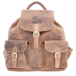 Greenburry Vintage Rucksack Leder 40 cm brown