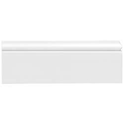 Homestar Zierleiste CF 12, kleben, überstreichbar, HD-Fussleiste