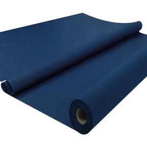 Sensalux Tischdeckenrolle, stoffähnliches Vlies, Standard 100 by Oeko-TEX - Klasse I Zertifiziert, 1,50m x 25m, Dunkelblau