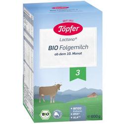 Töpfer Bio Folgemilch 3 600 g ab dem 10. Monat