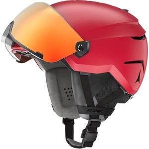 ATOMIC Savor AMID Visor HD Helm, Erwachsene, Unisex, Rot (Rot), 55/59 cm
