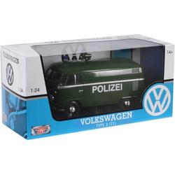 VW T1 Polizei 1:24 VW T1 Polizei 1:24 MM79574 1St.