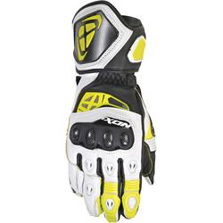 Ixon RS Genius Replica, Handschuhe - Schwarz/Weiß/Neon-Gelb - S