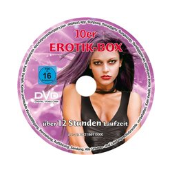 """10er-Soft-DVD-Spindel"", 730 Minuten"