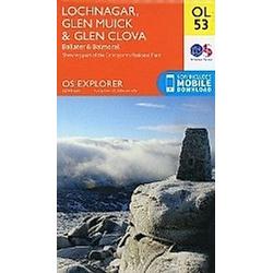 Lochnagar  Glen Muick & Glen Clova 1 : 25 000 - Buch