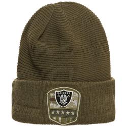 NEW ERA Herren Beanie 'NFL Oakland Raiders Salute To Service ' oliv, Größe One Size, 4708156