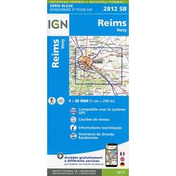 Reims.Verzy 1:25 000
