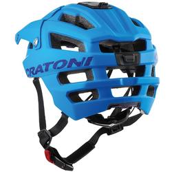 Cratoni Mountainbikehelm MTB-Fahrradhelm AllTrack, Reflektoren, dreifache Höhenverstellung blau Rad-Ausrüstung Radsport Sportarten