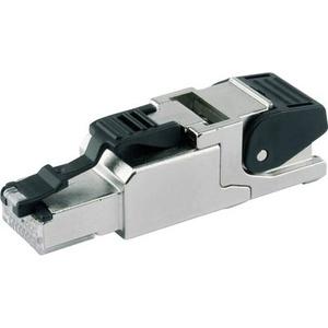 Telegärtner RJ45 Stecker CAT 6A geschirmt Stecker, gerade Metall J00026A2001 1St.