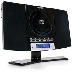 Minianlage Wecker CD-Player MP3 Radio Denver MC-5220 schwarz