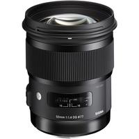 50 mm F1,4 DG HSM (A) Nikon F