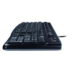 Logitech K120 Corded Keyboard Flaches Profil schwarz