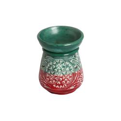 Casa Moro Duftlampe Casa Moro Orientalische Duftlampe Shakir-5 aus Soapstone geschnitzt 10x10x11 cm (B/T/H) Diffusor, Teelicht-Halter für Aromatherapie, Handmade Aromalampe, SL3050