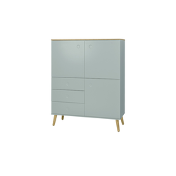 Roomers Highboard   Scan ¦ Maße (cm): B: 109 H: 137 T: 43
