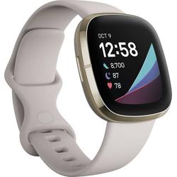 FitBit Sense Smartwatch Uni Weiß