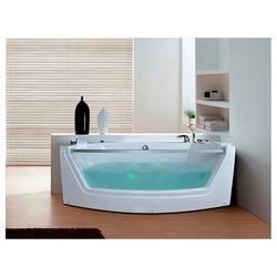 HOME DELUXE Whirlpool-Badewanne Cadiz M, (1-tlg), B/T/H: 175 / 85 / 60 cm