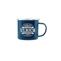 HTI-Living Becher Echter Kerl Emaille Becher Ulrich, Emaille