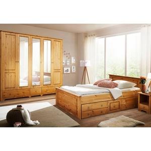 Home Affaire Schlafzimmer Set Hugo (4 Tlg.), Bett 180 Cm