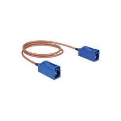 Delock Antennenkabel FAKRA C-Anschluss W bis W 50 cm Koax (89667)