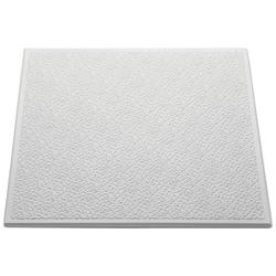 Decoflair Deckenplatten Deckenplatte T130, BxL: 50x50 cm, (Set, 8-tlg) auch als Wärmedämmplatte verwendbar