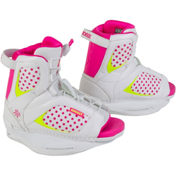 RONIX AUGUST GIRLS Boots white/pink a dot/ neon - 33-38